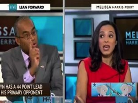 Melissa Harris-Perry Show Panel Explodes Over 2010 Tea Party Racism Charge