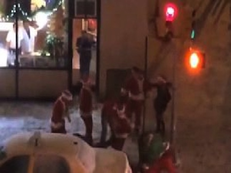 New York City Epic Santa Brawl