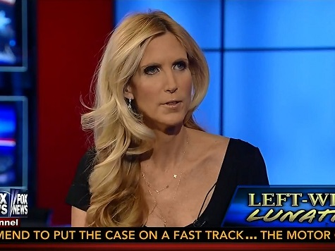 Ann Coulter: 'Liberalism Is an Aspect of Mental Illness'