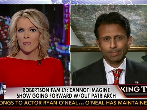 Bobby Jindal: A&E, Hollywood and the Left 'Hypocritical' for 'Duck Dynasty' Outrage