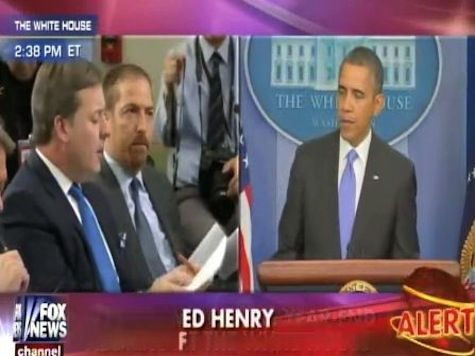 Fox News Ed Henry Confronts Obama On His Credibility