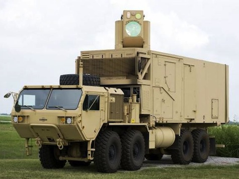 Army's New Laser Trucks Successfully Shoot Down Mortars, Drones
