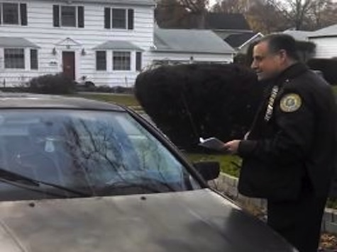 New York Cop Threatens to Ticket Man Washing Car in His Own Driveway