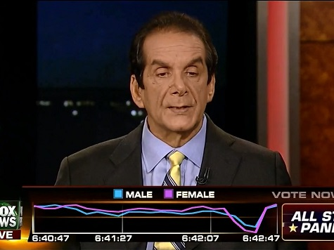 Krauthammer: Obama Administration Is 'Running the Insurance Companies Like Errand Boys'
