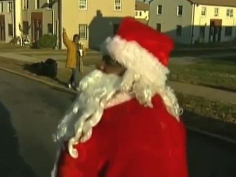 Santa Shot by Pellet Gun During DC Toy Giveaway
