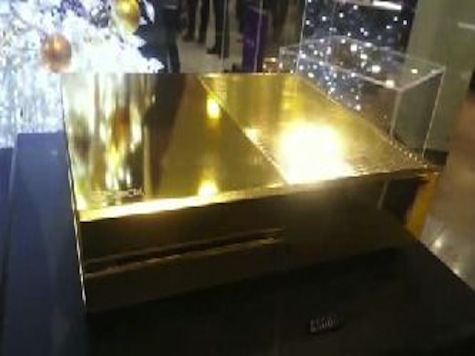 24-Karat Gold Xbox Has Over $9,000 Price Tag