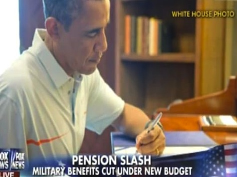 Obama Signs Bipartisan Budget Slashing Military Benefits for Veterans