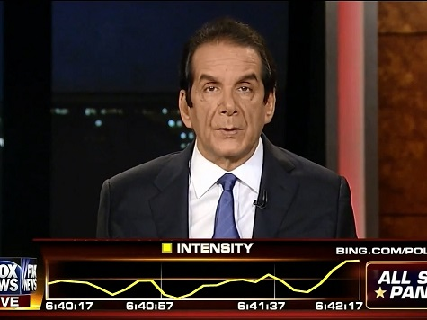 Krauthammer: Iranians Are Confident about How Supine Obama Is