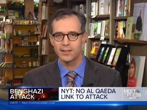 NY Times Reporter David Kirkpatrick Defends His Benghazi Report on 'Meet the Press'