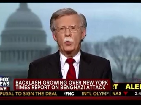 Bolton: NY Times Benghazi Story Downplays 'Radical Islam and Terrorists Associated With It'