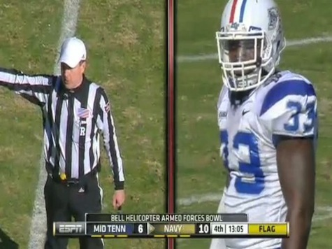 MTSU's Roderic Blunt's Unsportsmanlike Ejection Highlights
