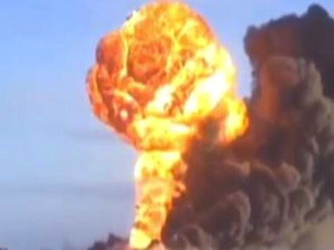Video of Train Exploding Into Massive Fireball in North Dakota