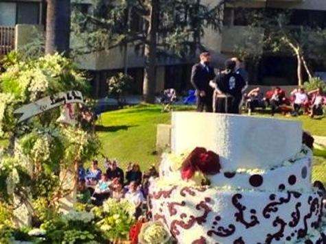 Watch: Same-Sex Wedding Ceremony Atop Rose Parade Float