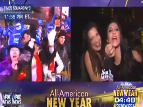 New Year's Reveler Screams 'We're Gonna F*ck Sh*t Up!' Live On Fox