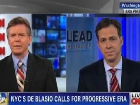 CNN's Jake Tapper: 'Bitter Partisanship' and a Exclusionary Tone At De Blasio Inauguration