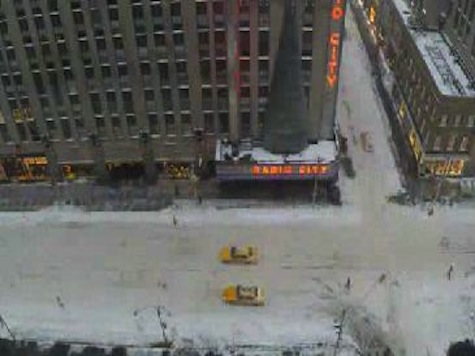Six Inches of Snow in 20 Seconds: Timelapse of NYC