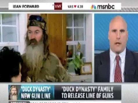 MSNBC Guest: 'Duck Dynasty' Trying To Appeal To 'Misogynist, Racist, Anti-Gay' Right-Wing Gun Nuts