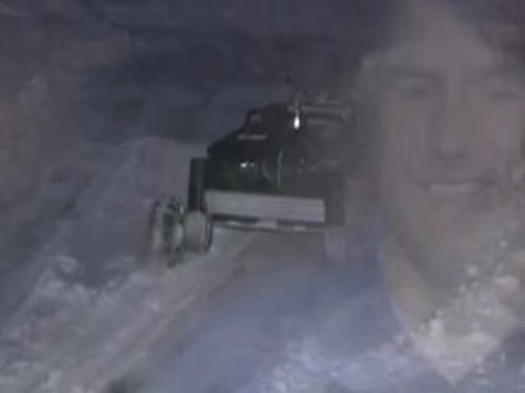 Surviving the Storm in Comfort: Man Builds Remote-Controlled Snow Blower