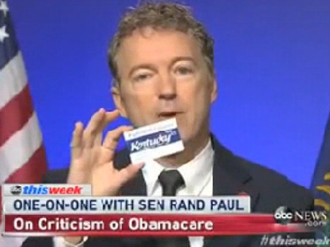 Rand Paul's Son Enrolled in Medicaid by Clueless Obamacare Officials