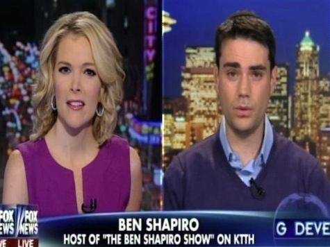 Breitbart's Ben Shapiro Crusades For Capitalism on 'The Kelly File'