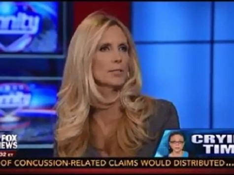 Coulter on 'Token' Melissa Harris-Perry: There Is More Cholera in America than Racism