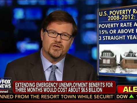 NRO's Goldberg: Obama Contradicts Improving Economy Message in Asking for Unemployment Benefits