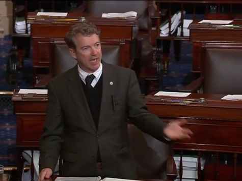 Rand Paul: I Rise Today in Opposition to the Money Changing at the Temple of the Federal Reserve
