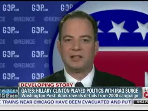 Reince Priebus on Hillary Clinton: 'Scandal Surrounds Her'