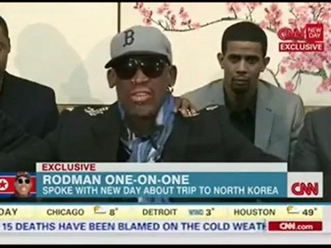 Dennis Rodman Unloads on CNN's Chris Cuomo in Bizarre, Ranting Interview