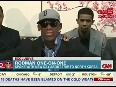 Dennis Rodman Unloads on CNN's Chris Cuomo in Bizarre, Ranting Interview
