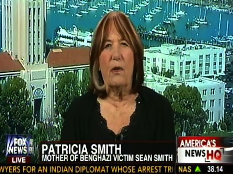Benghazi Mom: If Hillary Wants to Be President She Has to Answer for My Son's Death