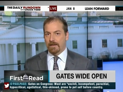 NBC's Chuck Todd: Gates Book Reinforces That Clinton Will Say And Do Anything To Win