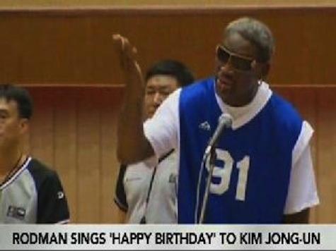 Dennis Rodman's Birthday Surprise for Kim Jong-Un