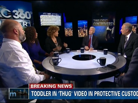 CNN Legal Analysts: Omaha Police Officers Association 'Racist' for Posting Toddler in 'Thug' Video