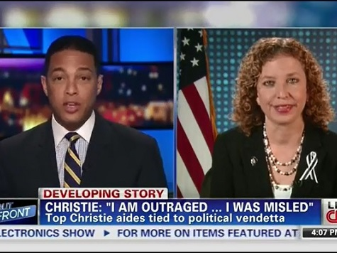 CNN's Lemon Turns the Table on DNC Chair with Christie 'Scandal'-ObamaCare, NSA Comparisons