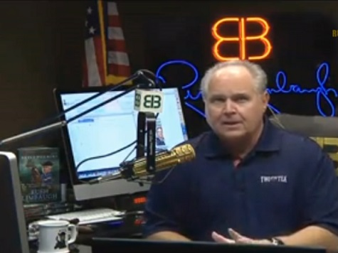 Rush Limbaugh: New Job Numbers Prove Obama Is Jimmy Carter's Second Term