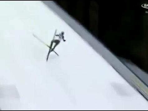 Olympic Ski Jump Champ Hospitalized After Horrific Accident