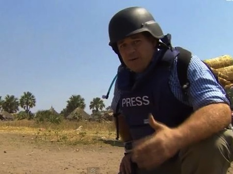 Wild Footage of BBC News South Sudan Crew Caught Up in Ambush