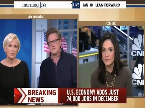 MSNBC Morning Joe: December Jobs Report Is Awful, Horrific, Very Bad, Ugly Numbers