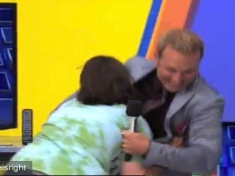'Price Is Right' Contestant Dives into Announcer's Crotch