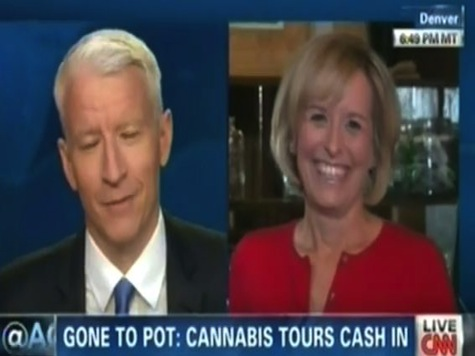 CNN Reporter Stoned: Gets Giggly Contact High During Story on Colorado Legalization