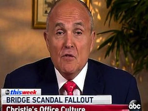 Giuliani: Christie Unaware of Traffic Scheme Just Like Obama 'Missed' Benghazi