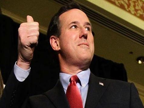 Santorum: Unlike Obama, Christie 'Manned Up'
