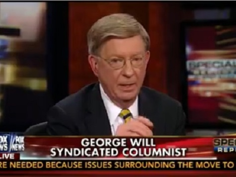 George Will: 'ObamaCare Has Always Counted on the Mass Irrationality of Young People'