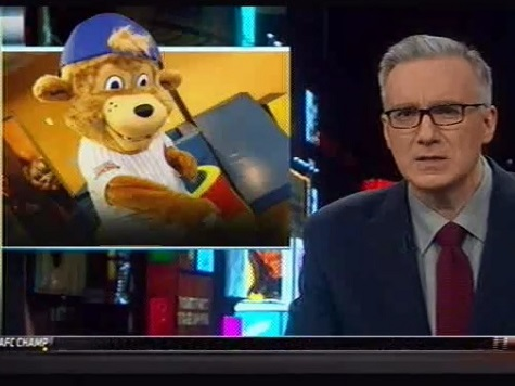 Olbermann Weighs In on Cubs New Mascot