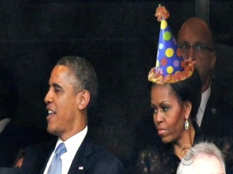 Letterman on Michelle Obama Birthday: 'If You Like Your Birthday Present You Can Keep Your Birthday Present'
