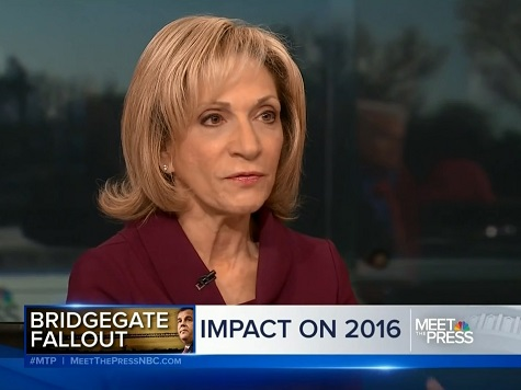 NBC's Andrea Mitchell on 'Bridgegate' Controversy: 'I Think the Democrats Are Probably Overdoing It'