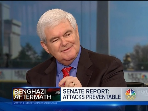 Gingrich: Hillary Won't Be Stopped by 'Nitpicking Smaller Issues' Like Benghazi