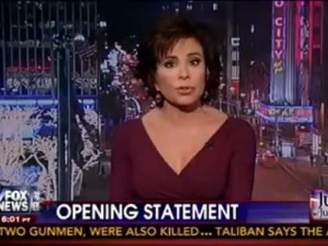 'Judge Jeanine' Hammers Hillary for Benghazi Terrorist Attack
