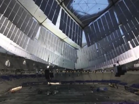 WATCH: Time Lapse Video of Final Metrodome Deflation